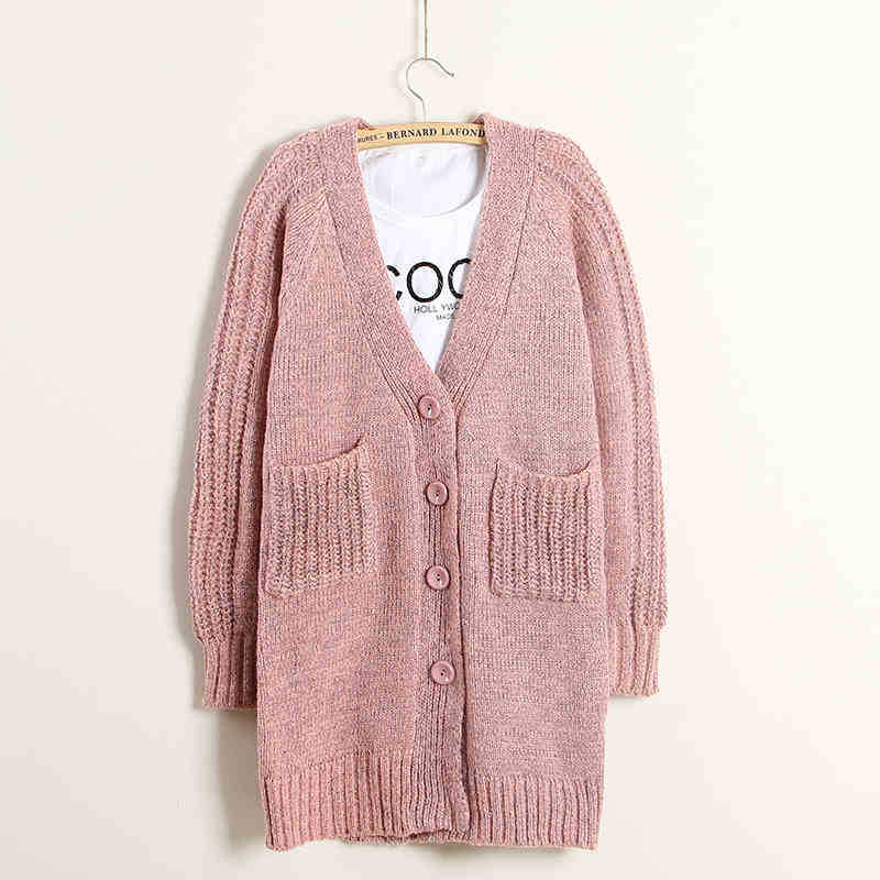 cardigan for women cheap sweater female 2015 spring new women s long section knit v 9776