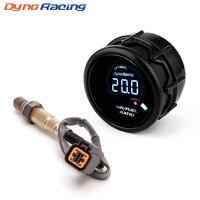 Dynoracing 52mm Car Air Fuel Ratio Gauge Digital GENUINE Narrowband O2 Oxygen Sensor Rear For 03 10 Hyundai Kia 2.0L