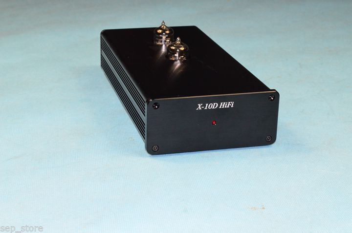 Finished 6N11 Tube Preamp Stereo HiFi Pre-Amplifier Ref Musical Fidelity X-10D