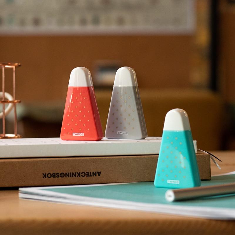 Купить с кэшбэком 3pcs Mini Watermelon correction tape 5mm corrective tapes Stationery Office School accessories utiles escolares F363