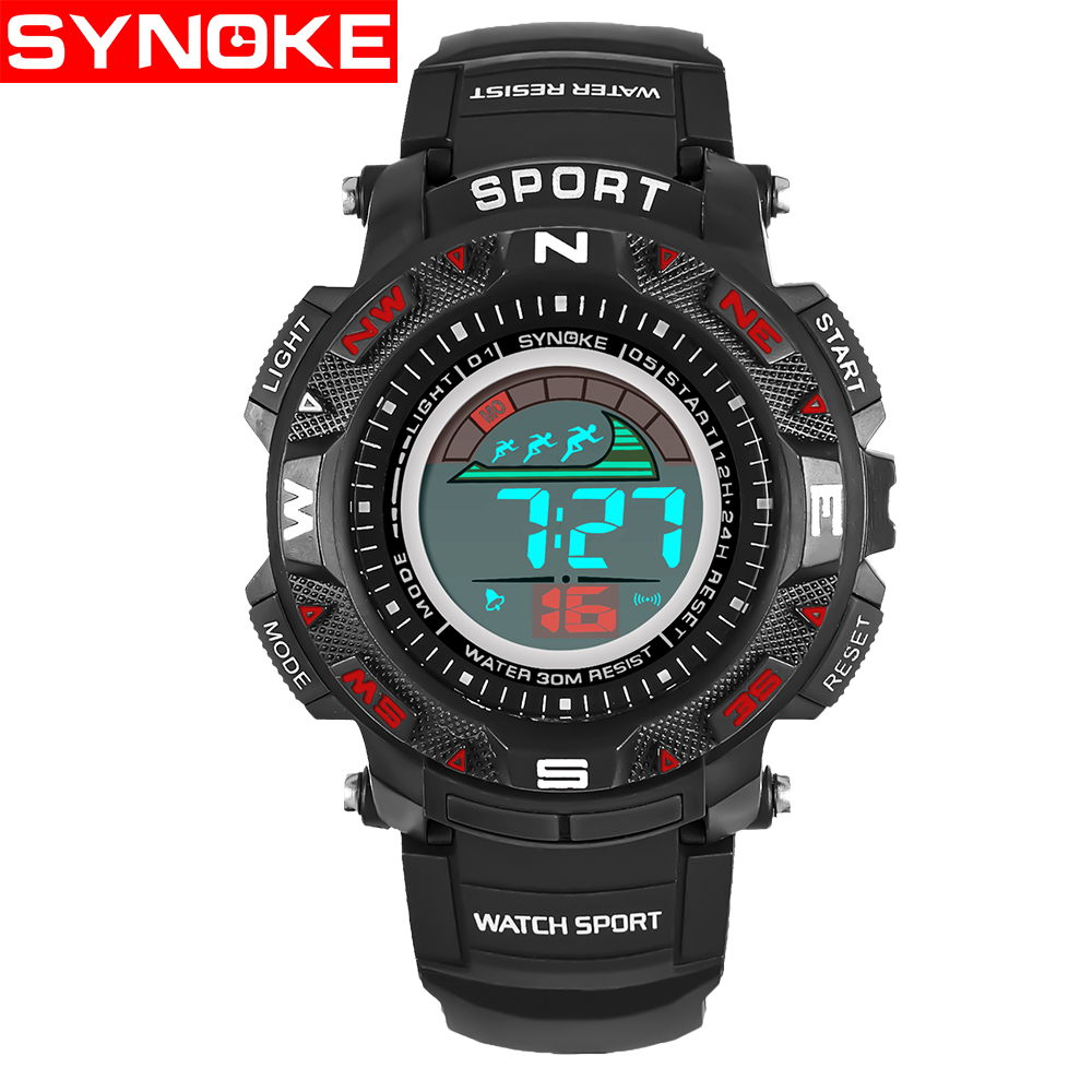 SYNOKE Kinderen LED Horloges Back Light Sport Kids Digital Horloges - Kinderhorloges - Foto 5