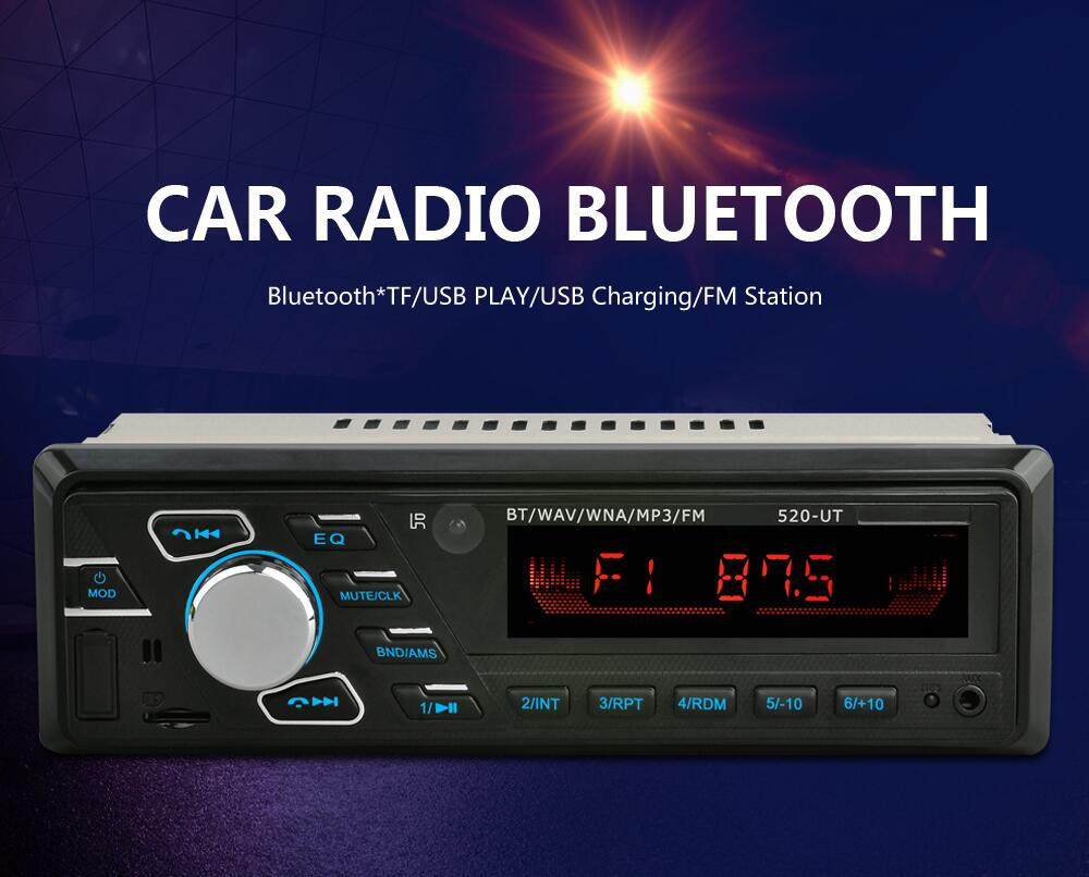 Autoradio Bluetooth SD/USB/AUX Radio MP3 Stereo 1 Din 12V Remote FM radio cassette player auto tapes car radio image