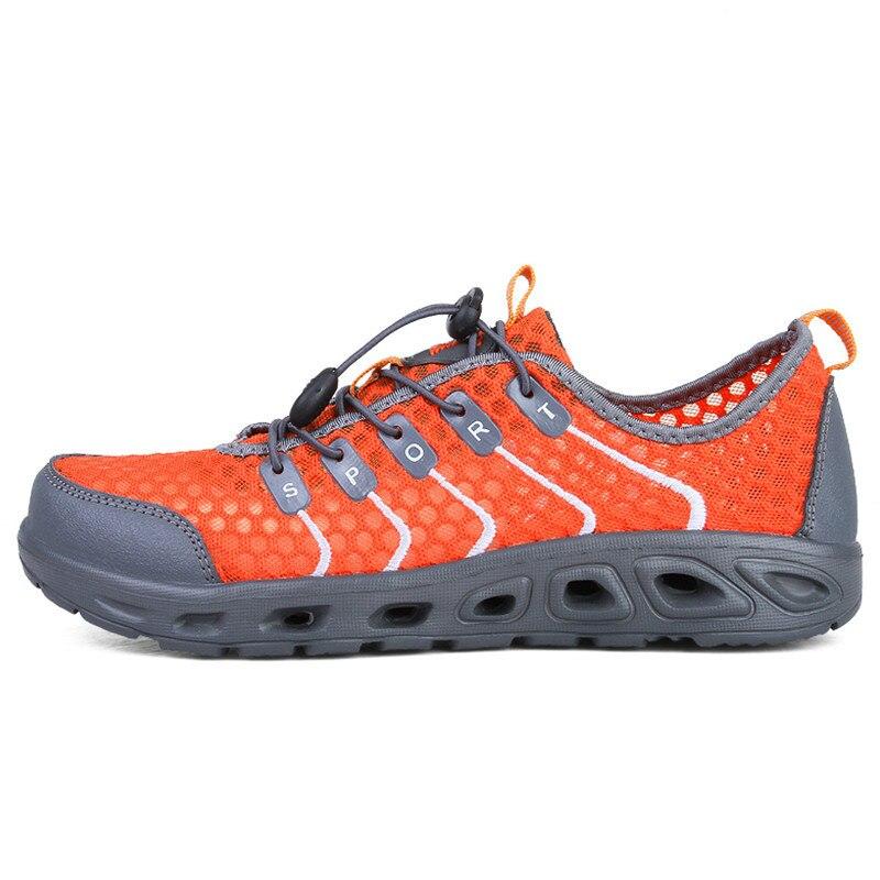 Mortonpart 2018 hommes femmes nouvelles chaussures en amont été chaussures de plage d'eau à séchage rapide Upsream baskets unisexe Aqua chaussures 36-44 Euro
