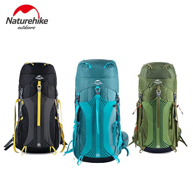 Naturehike 55L-65L  Outdoor Professional Hiking Backpack Unisex Trekking Rucksack Softback Bag NH16Y020-Q/NH16Y065-Q