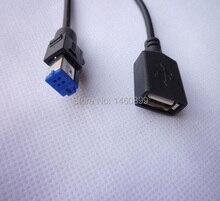 USB Аудио Кабель-Адаптер, Cd-чейнджер Женский USB Кабель/USB Разъем Для NISSAN Qashqai Teana Нового, Новый X-TRAIL