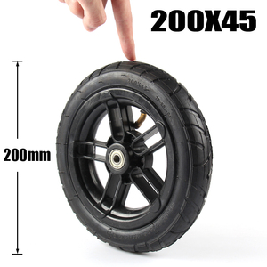 8 Inch Inflated Wheel For E-twow S2 Scooter M8 M10 Pneumatic Wheel With Inner Tube 8