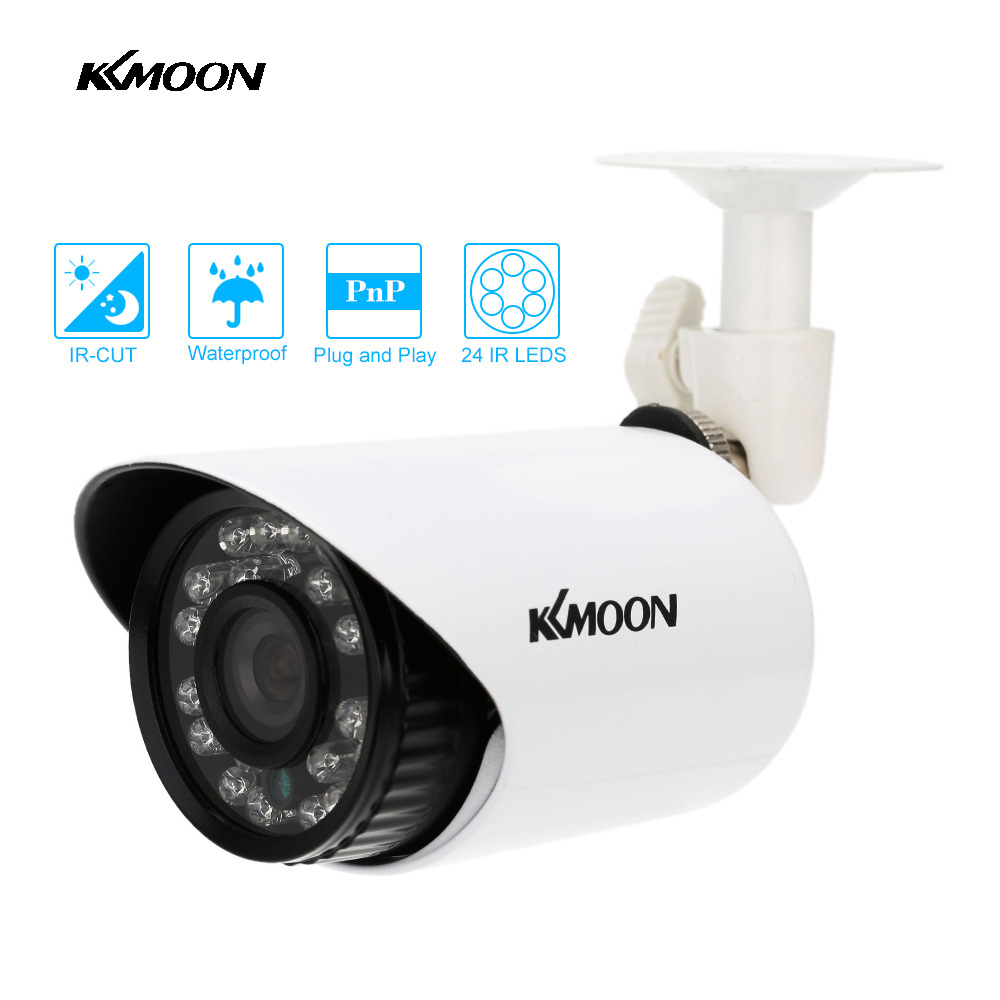 Kkmoon high equipped 700tvl home security camera outdoor ir cut night vision waterproof cctv - Exterior home security cameras ...