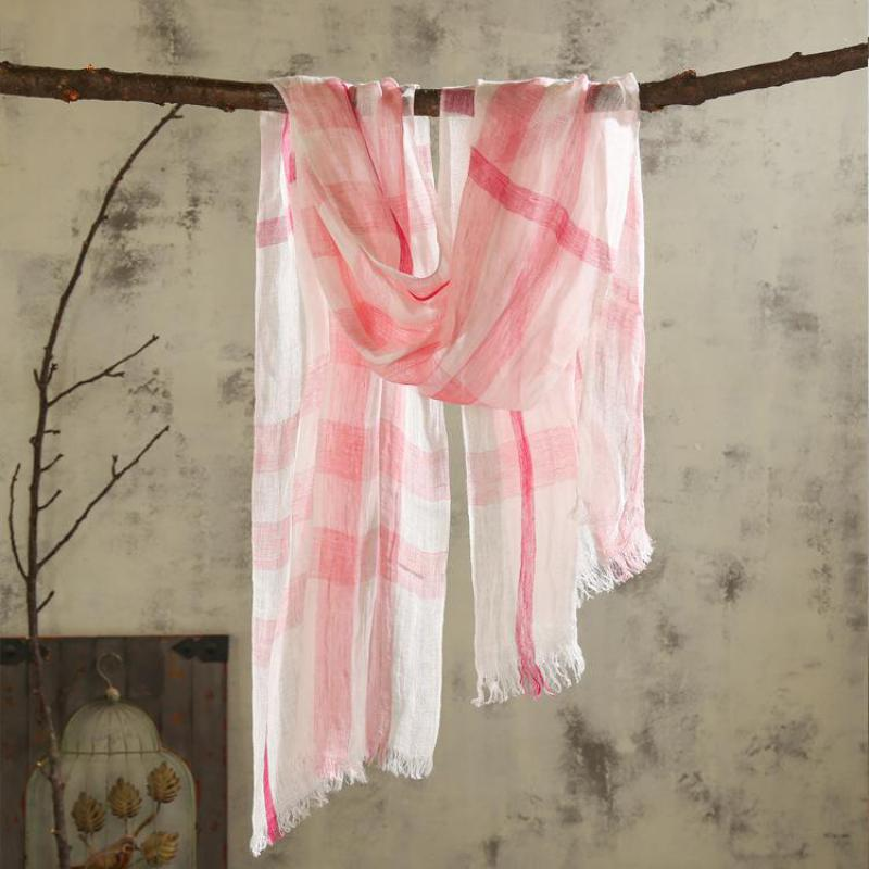 winter Scarf Solid Linen