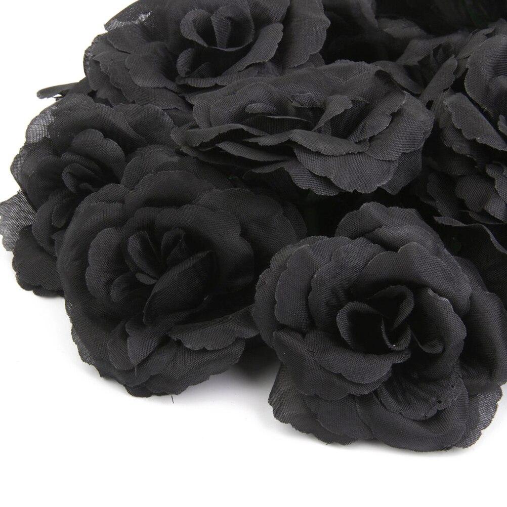 20pcs Rose Silk Flower Wedding Diy Party House Office Shop Garden