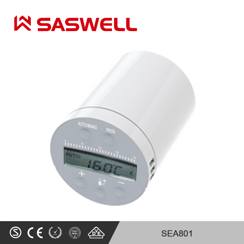 SASWELL SEA801-APP Thermostat Temperature Controller  Heating And Accurate TRV Programmable Controller