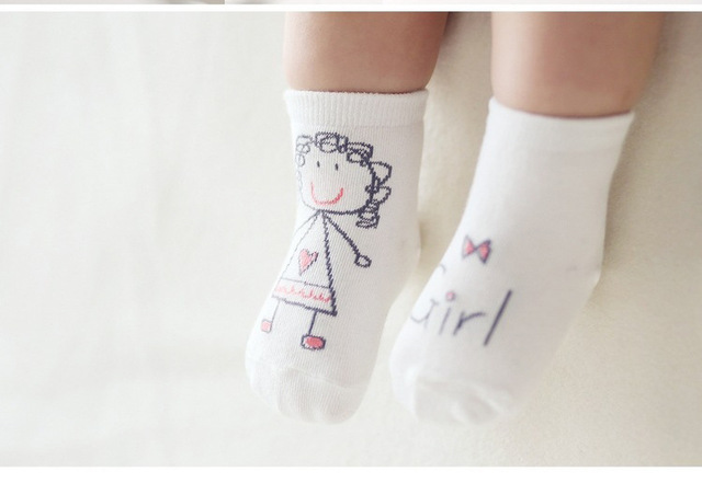 Cartoon Anti-Slip Socks