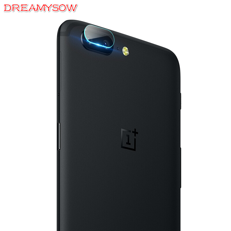 Dreamysow Camera Lens Film For OnePlus 5 3 Back Screen Protector One Plus Three Five Full Cover Tempered Glass For Oneplus 3 5