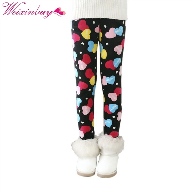992fcb406b9cfe Infant Baby Girl Warm Thick Leggings Toddler Kids Winter Fleece Lined Slim  Pants