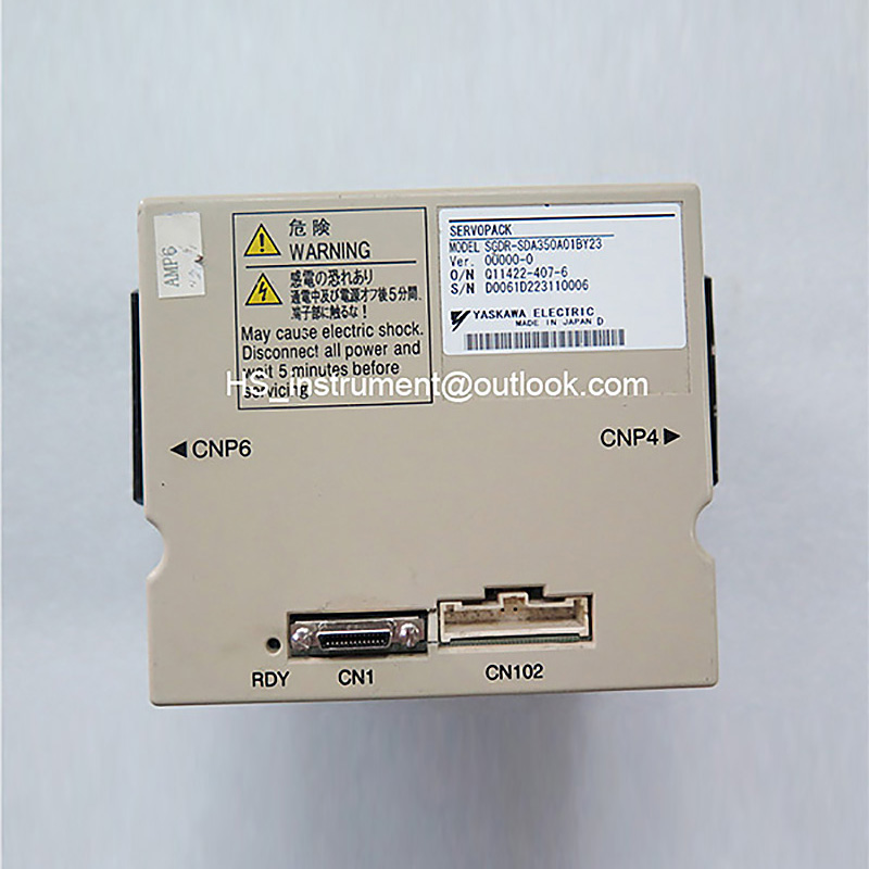 SGDR-SDA350A01BY23 SERVOPACK SGDR SDA350A01BY23 USED 100% TESTED used 100% tested ut38e