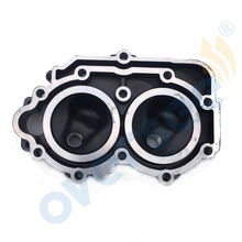 OVERSEE 6E7-11111-01 Cylinder Head Cover For Yamaha Outboard 9.9HP 15HP 2 Stroke 6E7-11111-01-94