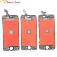 10PCS Lot AAA Lcd Screen Replacement For IPhone 5 5C 5S Display Touch Digitizer Complete Screen