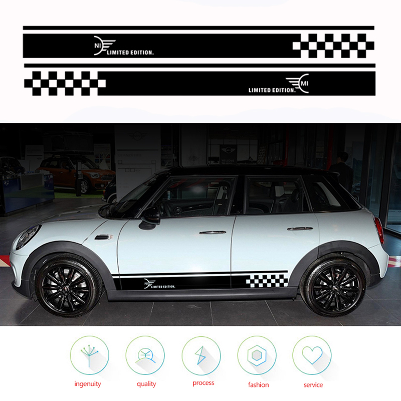 Car Stickers Decals R50 R53 R56 R57 R59 F55 R52 R58 Durable Practical Popular-in Car Stickers from Automobiles & Motorcycles