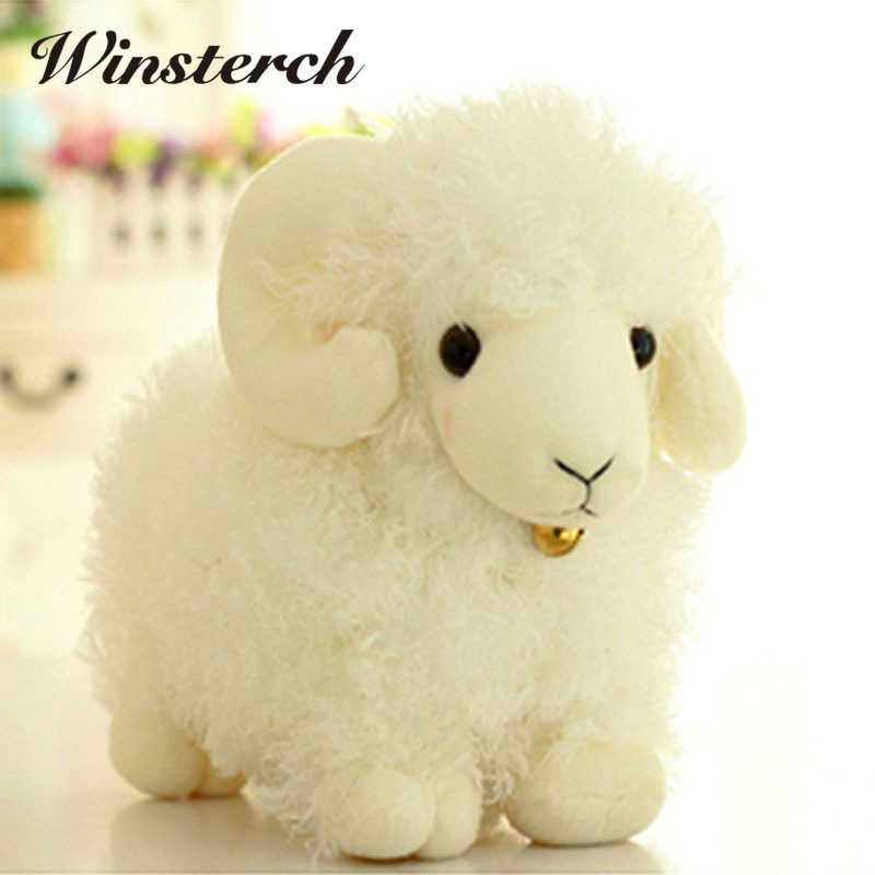 2017 New Hot Sale Cute  Plush Toy Lovely stuffed animal Simulation sheep Kids doll Birthday gift 1pcs Christmas Presents WW168 лобзик dwt sts06 80 d