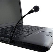 ATS Mini de 3.5mm Microfone Flexível para PC/Laptop/Skype