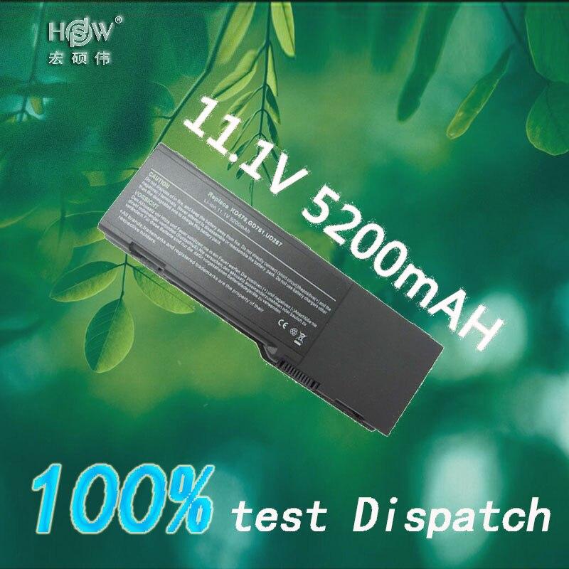 HSW Battery For Dell Inspiron 1501 6400 E1505 Latitude131L Vostro1000 GD761 JN149 KD476 PD942 PD945 PD946 PR002 RD850 bateria