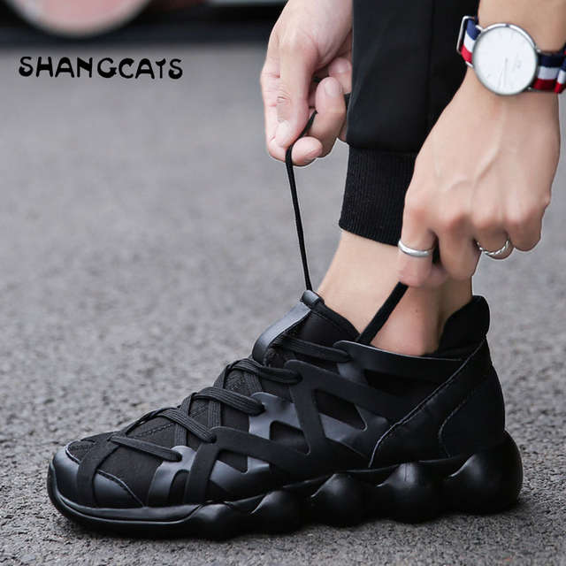 ed2d9cd62bd Online Shop Hand-woven Mens Shoes Trendly 2019 Summer Shoes For Men ...