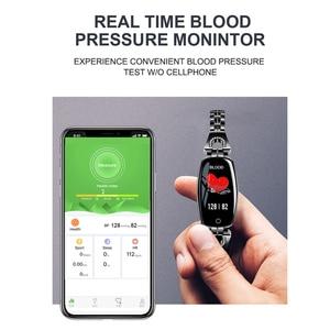 Image 2 - Greentiger H8 Intelligente Del Braccialetto Delle Donne Attività Inseguitore di Fitness Heart Rate Monitor di Pressione Sanguigna IP67 Impermeabile Intelligente Wristband