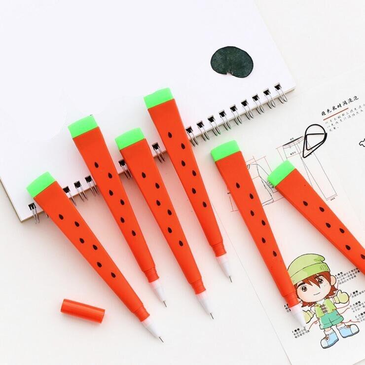 Эллен Brook цельнокроеное платье корейских канцелярские мультфильм милый арбузная ручка рекламы творческая школа офиса гелевые ручки подаро...