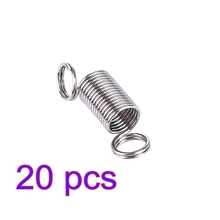 MODIKER 2/5/10/20PCS kIT Water Gel Beads Parts Stainless Steel Reset Spring for JM 8 M4A1 Gearbox Modification Upgrade