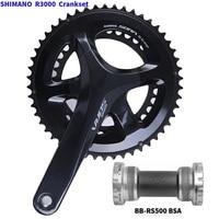 SHIMANO R3000 Groupset SORA R3000 Derailleurs Road Bicycle FC+ST+FD+RD+BR+CS Front / Rear Derailleur Shifter Brake Cassette