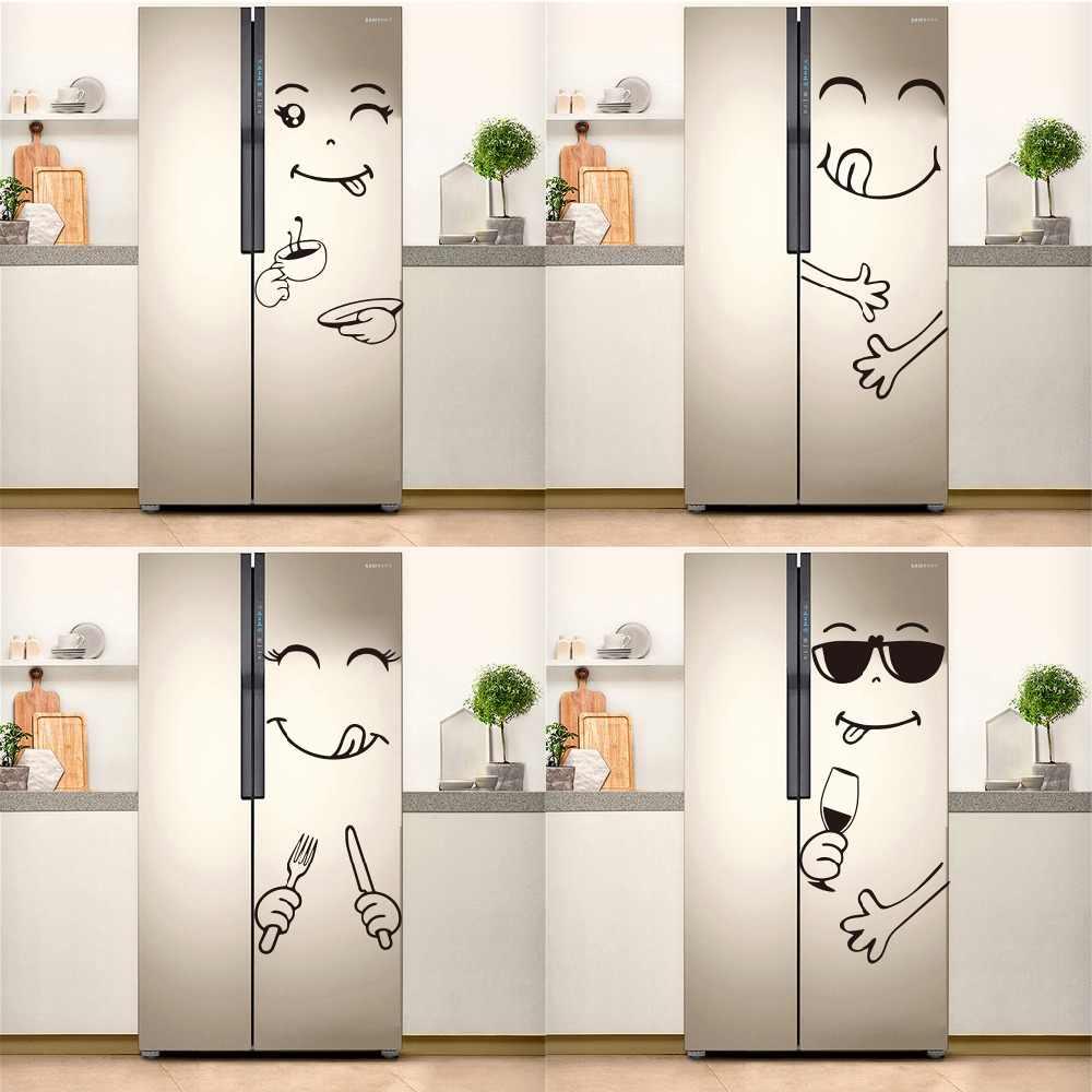 Hot Sale Fridge Sticker Cuisine Kitchen Decoration Delicious Face