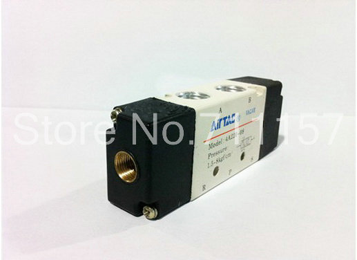 "3 way 2 position Solenoid Valve BSP Air 3//8/"" DC//AC Inner Pneumatic Electric BSPT"