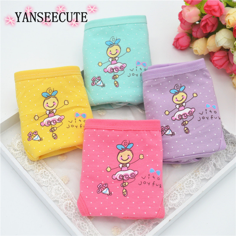 girl underwear girl briefs panties child's underwear pants for girls underpants kids underwea calcinha infantil B1082-4PCS