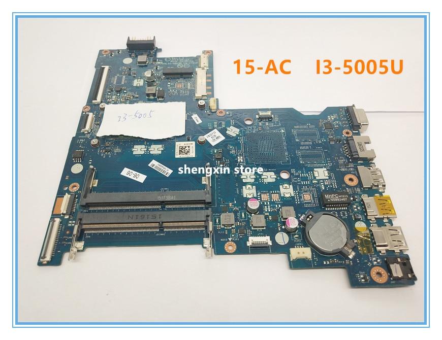 Laptop Motherboard For HP 15-AC 440-G3 440 G3 822041-001 AHL50 ABL52 LA-C701P I3-5005U Test 100%