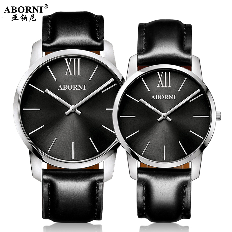 2017 New Women Dress Watches,Watches Men Luxury Brand Fashion& Casual Lover Couple For Gift Leather Strap Relogio Feminino south korea creative concept fashion personality women men couple watches new trend minimalist gift watches