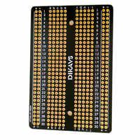 Placa de circuito impreso Universal PCB de soldadura de doble tamaño para Arduino