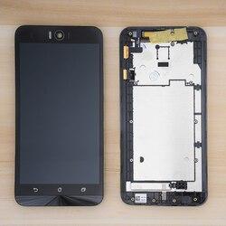 Oryginalny 5.5 ''ekran LCD dla asusa Zenfone Selfie ZD551KL wyświetlacz LCD rama ekranu dotykowego Digitizer zgromadzenie dla ASUS ZD551KL wyświetlacz w Ekrany LCD do tel. komórkowych od Telefony komórkowe i telekomunikacja na