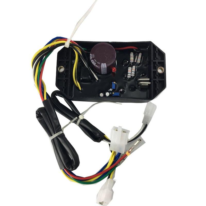 para o gerador de kipor 5kw avr trifasico ki davr 50s3 regulador de tensao automatico davr