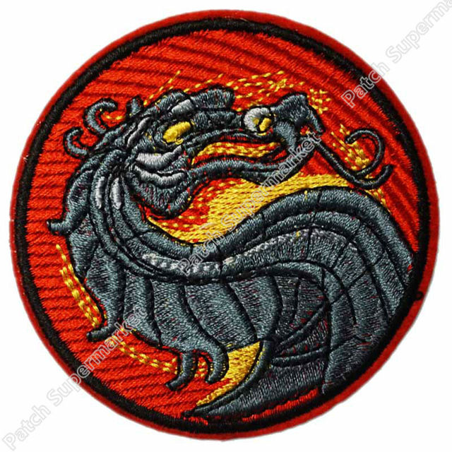 3quot mortal kombat dragon logo anime movie tv series costume