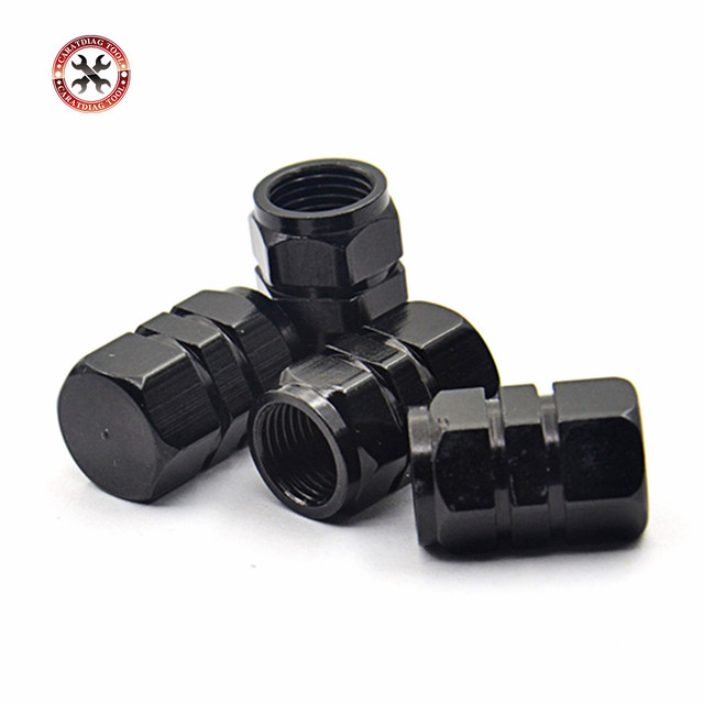 Auto Tire Car styling New 4pcs/pack Theftproof Aluminum Car Wheel Tires Valves Tyre Stem Air Caps Airtight Covers for all Cars