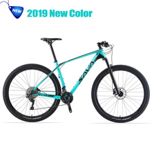 2019 Mountain bike 29 inches mtb Carbon Mountain Bike 29 Mountainbike Bicycle Bikes mountain bicycle mbt bicicleta de montana cheap Carbon Fibre Aluminum Alloy Unisex 1 33 0 1 m3 Oil Spring Fork (Spring Resilience Oil Damping) Double Disc Brake Hard Frame (Non-rear Damper)