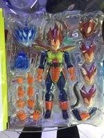 Anime japonais Dragon Ball Super Saiyan Vegeta SHF Beta Warrior tissu 15 cm PVC Action Figure
