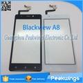 Sensor de toque para o blackview a8 painel digitador da tela de toque
