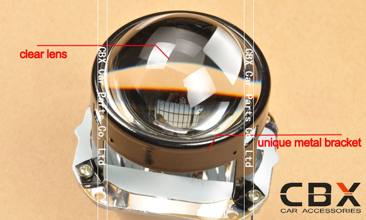 2.5 inches H4 H7 leader WST bi-xenon projector lens 4