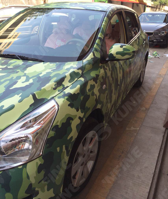 car styling wrap camo voiture vinyle film carrosserie autocollant d 39 enveloppe de voiture avec. Black Bedroom Furniture Sets. Home Design Ideas