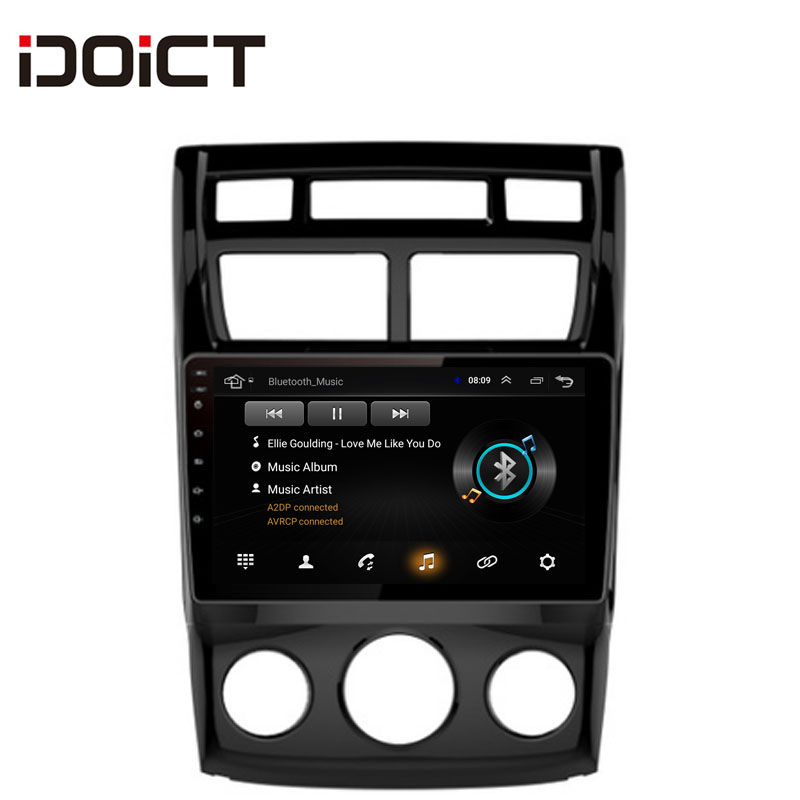 IDOICT Android 8 1 Car DVD Player GPS Navigation Multimedia For KIA Sportage radio 2009 2016