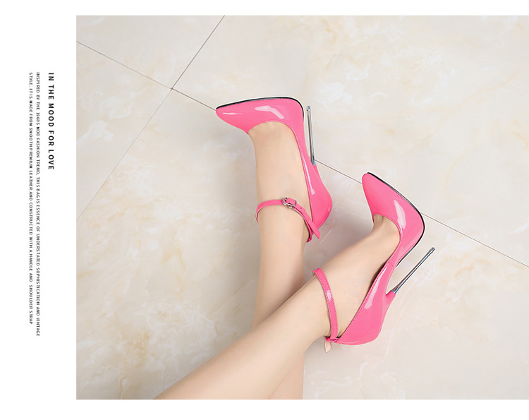 Sexy High Heels With Pointed Toe Women Leather Shoes