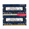 Пожизненная гарантия для hynix DDR3 2 ГБ 1600 мГц PC3-12800S DDR 3 2 г портативный ноутбук памяти первоначально 204PIN SODIMM