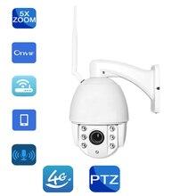 Hi3516C HD 1080P 960P 3G 4G SIM IP Camera PTZ 5X Zoom Auto Focus Outdoor Waterproof Speed Dome Camera Wireless Wi-fi Camera