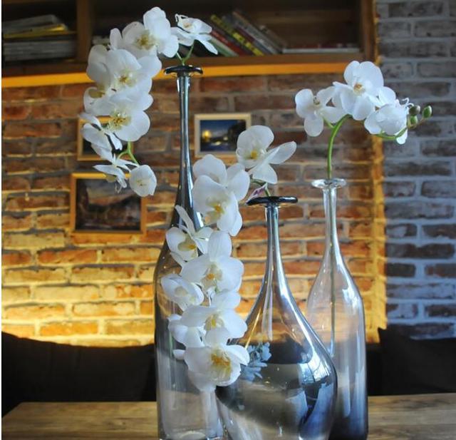 5 Sztuk Symulacji Kwiat Butterfly Orchid Sztuczne Kwiaty ślub