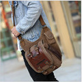 Men's Vintage Travel Riding Motorcycle Sling Chest Bag fashion men bags shoulder Messenger bag multi  functional postman package
